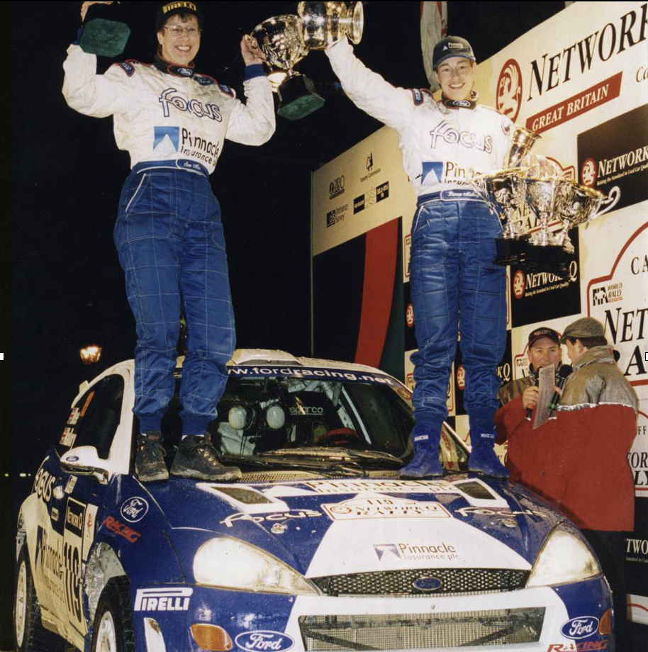 Penny Mallory Rally Champion